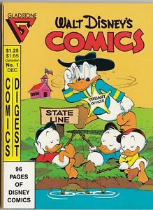Gladstone Comics Digest Walt Disney's Comics #1