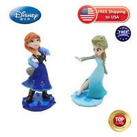 Disney Princess Frozen 2 Elsa Anna Doll 2pcs toys Set Action Figure Toys gift