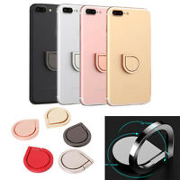 360° Metal Grip Finger Ring Universal Stand Holder for iPhone Cell Mobile Phone