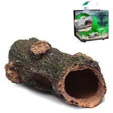 Decaying Trunk Aquarium Ornament Driftwood - Decoration Fish Tank Tree Wood New