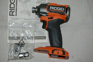 Ridgid 18V Brushless 1/4 Impact Driver R862311 NO RESERVE R862311B