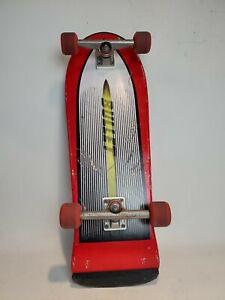 Vintage 80's Santa Cruz Bullet Skateboard Independent Trucks OJ II Wheels - SFJ