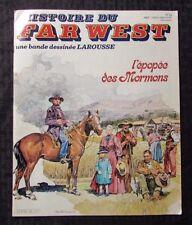 1981 HISTOIRE DU FAR WEST #26 FN 6.0 Abraham Lincoln - Spanish