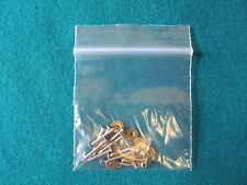 12 off Genuine factory Straight Razor pins & washers For re-scaling razors