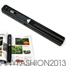 Mini Portable 900 DPI A4 Book Scanner LCD Display JPG PDF Document Images New