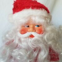"""Vintage Santa Claus 10"""" Musical Toy Made In Hong Kong Decor Only Non Working"""