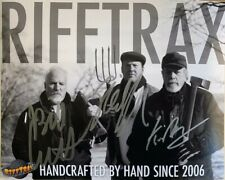 Rifftrax- Autographed Photo by Mike, Kevin & Bill! HANDCRAFTED Version