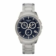 TISSOT CHRONOGRAPH DATE TITANIM CASE/BRACELET MEN'S WATCH T069.417.44.041.00 NEW