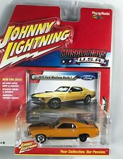 ERROR JOHNNY LIGHTNING 1970 FORD MUSTANG MACH 1 MUSCLE CARS VARIATION NO TIRE