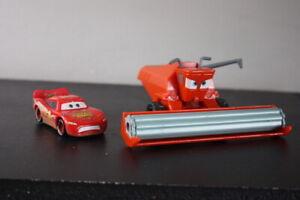 Disney Pixar Cars Frank Combine Harvester 1:55 Toy Model Car Lightning McQueen