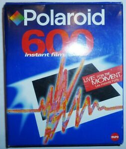 Polaroid 600 Extreme Instant Film Out Of Date - Live for the MOMENT - Sealed