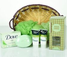 All Occasion Luxurious Spa Gift Basket- Women GREAT GIFT! Sugar Cookie Diffuser