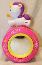 New listing Fisher Price Crawl Along Musical Unicorn Rolling Toy