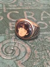 Vintage Beatles Paul McCartney Metal Adjustable Ring 1960s