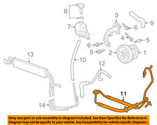 Cadillac GM OEM 08-14 CTS-Power Steering Pressure Hose 22882710