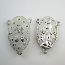 50pcs of High Quality Miraculous Medal Rosary Centerpieces