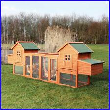 [No Tax] Trixie Chicken Coop Duplex with Outdoor Run, Cage