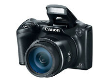 Brand New Canon PowerShot SX400 Digital Camera w/16 MP, 30x Optical Zoom, Black