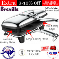 Toasted Sandwich Maker Press Jaffle NEW Jumbo Maker Sandwich Press by Breville