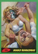 Mars Attacks The Revenge Green Base Card #19 Deadly Rendezvous