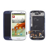 Pour Samsung Galaxy S3 i9300 i9305 écran tactile Digitizer écran LCD + cadre gg