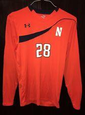Northwestern Wildcats Game Worn Soccer Goalie Jersey UA HeatgeGear #28 Sm