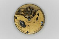 Waltham Grade Wm.Ellery Pocketwatch Movement 8S 11J Model Parts/Repair SN#100415