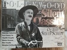 Hollywood Silent Classics of The Silver Screen 10 Videos VHS Tapes NEW - B76