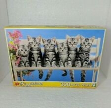 Puzzlebug 300 Piece Puzzle Features Kittens In A Row New factory sealed