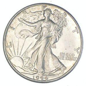 Better 1944-D - US Walking Liberty 90% Silver Half Dollar Coin Set Break *584