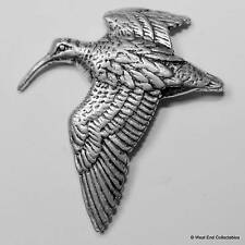 Woodcock Pewter Pin Brooch - British Hand Crafted - Shotgun Hunting Game Bird