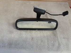 2003-2008 SAAB 9-5 9.5 REAR VIEW MIRROR AUTO DIMMING HOMELINK 015805