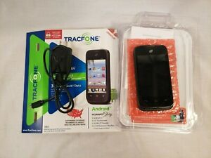 Huawei Glory H868C - Black (TracFone) 3G WiFi Android Camera Touch Smartphone