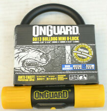 On Guard 8013 Bulldog Bike U Lock Security Steel AntiTheft Protection US Shipper