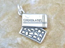 Sterling Silver Box of Chocolates Charm - 0576