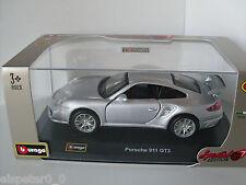 Porsche 911 GT2 + Vitrine, Bburago Street Cars 1:32, Special Edition