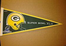 2010 Green Bay Packers NFC Champions NFL Super Bowl 45 Pennant