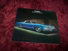 Prospectus / Brochure PONTIAC Catalina 1974 //