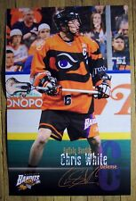 BUFFALO BANDITS 2010 lacrosse poster #3 - CHRIS WHITE  - vs Toronto Rock