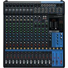 Yamaha mg16xu - 16 canal Studio mesa de mezclas mezclador pa escenario-OVP & nuevo