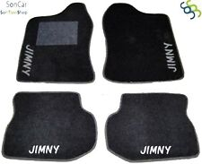 DECORO TAPPETI SUZUKI JIMNY su Misura 4 Fix Universali! JIMNY bianco