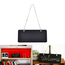 Mini Blackboard Chalkboard Wooden Message With Hang String Wedding Decoration@@
