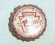 RENNER FULLY AGED BEER PA TAX CORK BOTTLE CAP - TOUGH CAP - OHIO