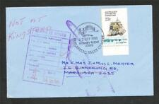 ANTARTICA 22c Terra Nova Ship with 2 Return to Sender Hands & 1 Address Unknown
