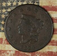 1820/19 LARGE CENT COPPER COLLECTOR COIN FREE SHIPPING