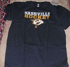 NEW NHL Nashville Predators T Shirt Men BIG TALL 2XLT NEW NWT