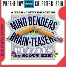 Mind Benders, Brainteasers, Puzzlers, Mazes and More Page-A-Day Calendar 2010 by