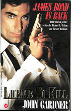James Bond In Licence To Kill (Good) by John Gardner 1989 Spy Paperback