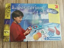 Clementoni Galileo Chemiebaukasten Laboratorium Luft, OVP