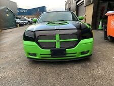 Dodge Magnum Headlight Smoked Covers Acrylic Hemi Blacked Out Headlamp Covers